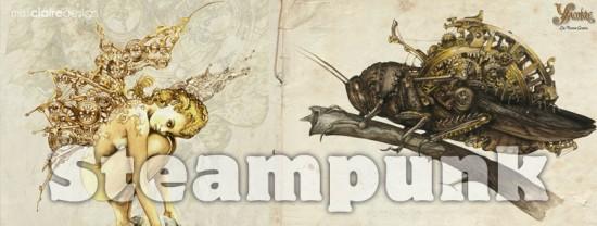Steampunk: vapore, metallo, velluto e corsett…